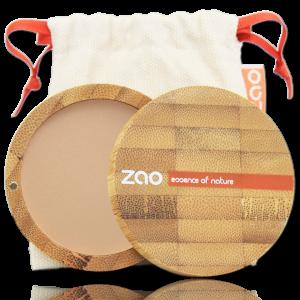 polvo compacto ecologico zao