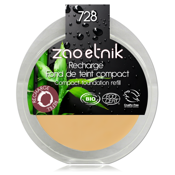 Zao Recarga Maquillaje Compacto 728