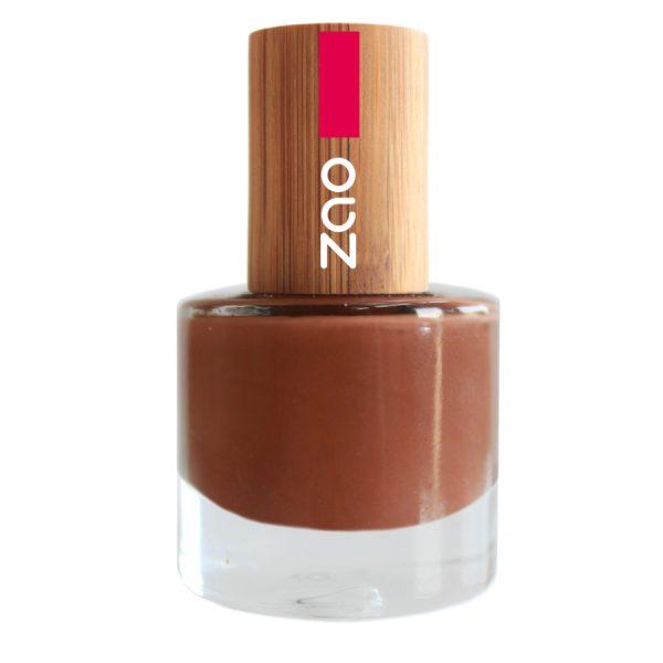 esmalte de uñas zao makeup avellana