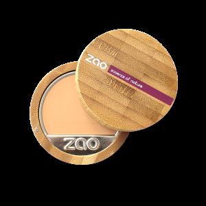 Maquillaje compacto ecológico Ocre