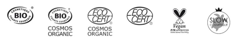 certificados ecológicos Zao Makeup