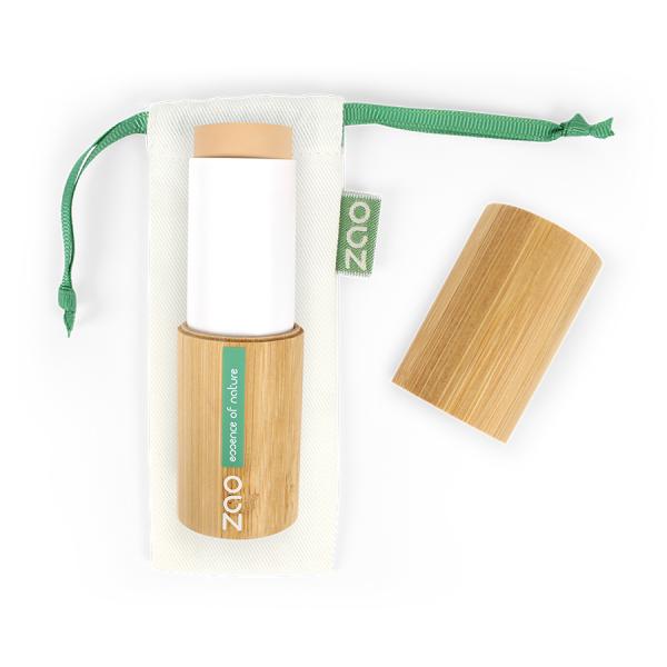 maquillaje en stick ecológico beige sable