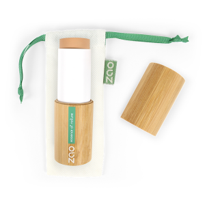 maquillaje en stick ecológico beige miel